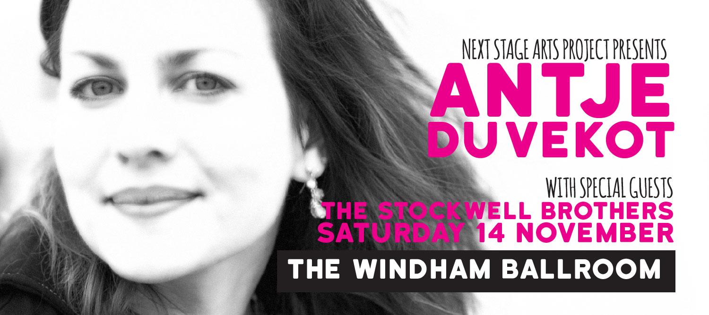 Antje Duvekot Live At the Windham Ballroom Nov 14